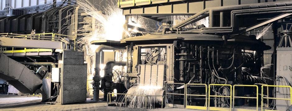 impianto metallurgico acciaio