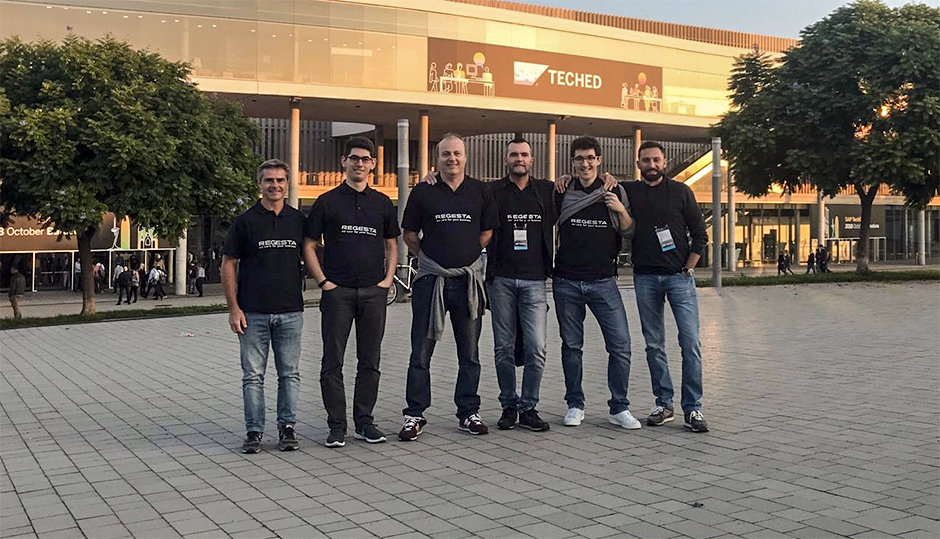 sap teched Barcellona-team Regesta