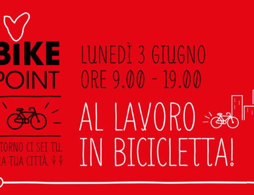 Al lavoro in bicicletta!