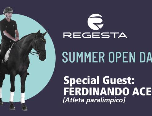 Ferdinando Acerbi ospite al Summer Open Day Regesta