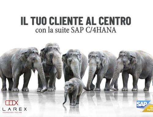 3 Ottobre – Incontro: Il tuo cliente al centro con la suite SAP C/4HANA