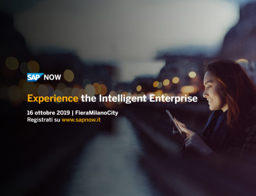 Intelligent Enterprise a SAP NOW 2019: unisciti a noi!