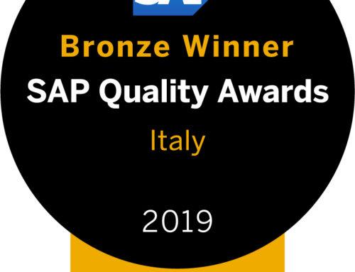 SAP Quality Award, premiati come innovatori