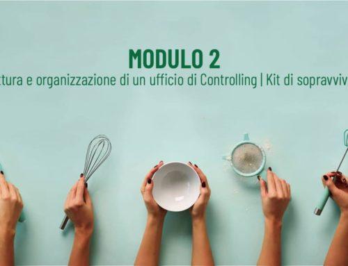 Modulo 2 Corso di Controlling