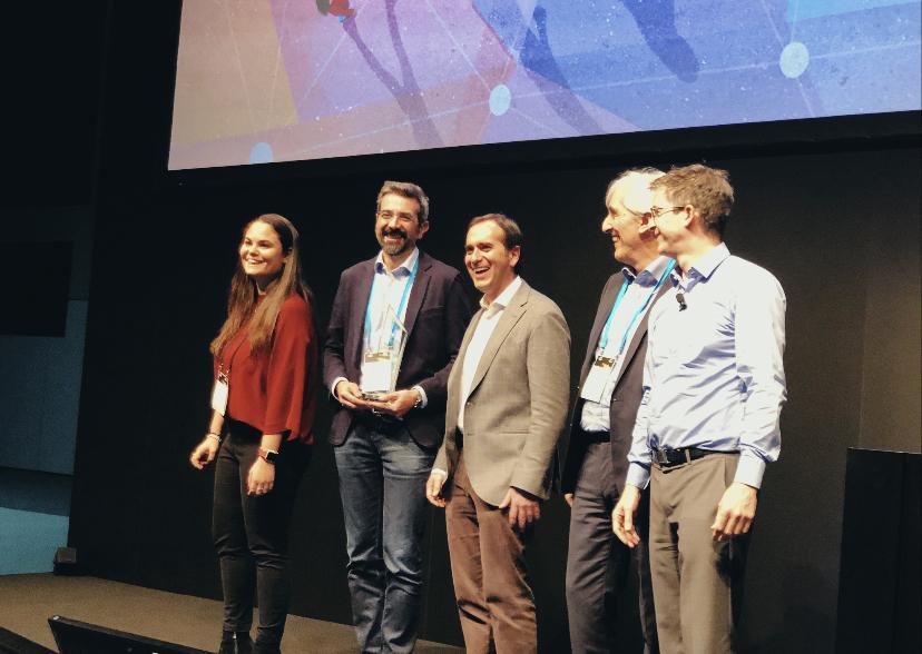 Premiazione Clarex come top new partner 2019