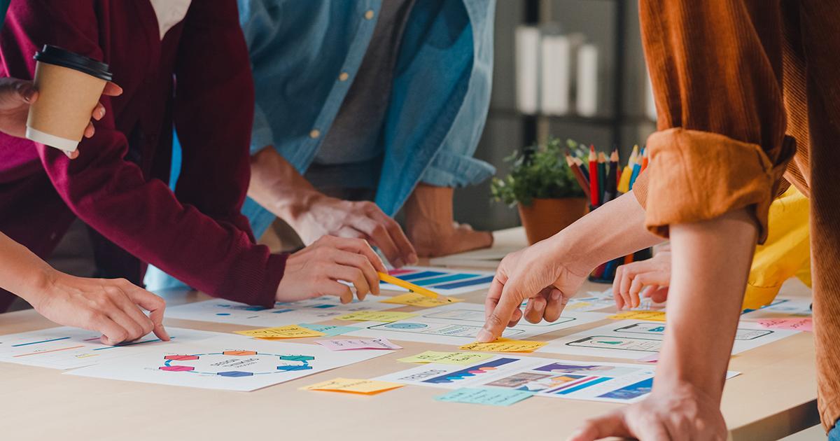 Pianificazione e budgeting lavoro di squadra